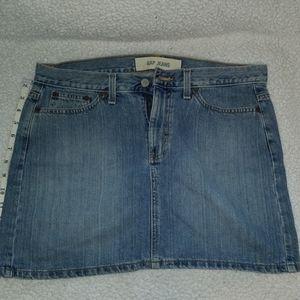 🍀Gap Jean's Skirt